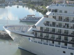 Regent Seven Seas Navigator docked in #Antigua - #pinterest #cruise #travel