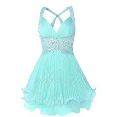 Elegant Cute Chiffon Prom Dress / Bridesmaid Dress on Picsity
