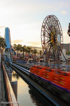 California Screamin', Disney California Adventure.  Love it--  even if I'm a little queasy at the end :-)
