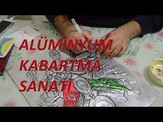 Alüminyum Folyo Kabartma Nasıl Yapılır? - How is Aluminum Foil Embossed? - YouTube