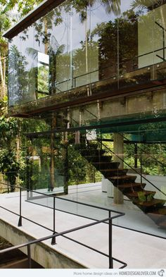A secluded Summer home in the rainforest.