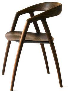 Japanese Dining Furniture arc chair on behance   j. chair design   pinterest