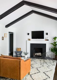 Designer Short-Cuts with the Biggest Impact | Living Room and Dining Room Decorating Ideas and Design | HGTV >> http://www.hgtv.com/design/rooms/living-and-dining-rooms/designer-short-cuts-with-the-biggest-impact-pictures?soc=pinterest