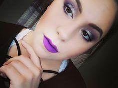 Purple makeup insp galaxy  Makeuo by Morgan Insta morganpollnowmua Morgan Pollnow