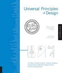 Titel: Universal Principles of Design - Författare: William Lidwell, Kritina Holden, Jill Butler - ISBN: 1592535879