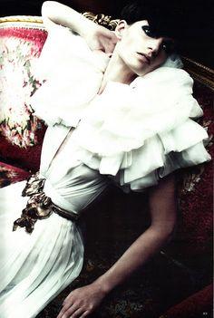 """Dreamworks"" by Alexi Lubomirski Vogue Germany, September 2011 Stylist : Christiane Arp Model : Iris Strubegger"