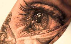 Tatuagem Realista | Olho