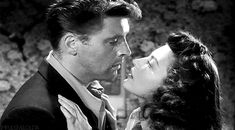 """impulsivelolita: """" """"You know why Colfax hates you? He's no fool. He sees what's happened."""" """" Ava Gardner and Burt Lancaster in """"The Killers"""", 1949 """" """" 💕♥ Male Movie Stars, More Photos, Couple Photos, Ava Gardner, Hollywood Actor, Lancaster, Behind The Scenes, Marriage, Film"""