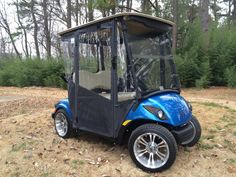 New 2013 Yamaha PTV 48V with DoorWorks Enclosure Golf Cart Enclosures, Golf Carts, Yamaha