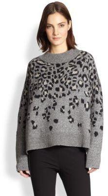 Pin for Later: Leopard-Prints sind tatsächlich gemacht für jedermann Rag & Bone Pullover Rag & Bone 'Isadora' übergroßer Pullover (309,51 €)