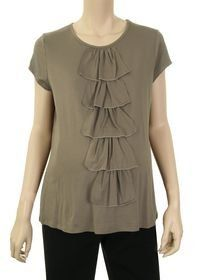 Lilo Maternity Short Sleeved Ruffle Front Top. http://todaydeals.me/viewdetail.php?asin=B003GCB7Y2