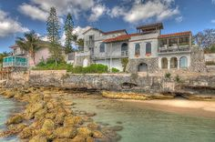 Single Family Home for Sale at Spanish Style Oceanfront Home Nassau New Providence, Bahamas