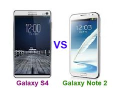 The Samsung Galaxy S4 vs Galaxy Note 2 are two amazing smartphones of the company having rich specifications, functions and features. Take a look onto a detailed comparison between the two to find the better Samsung device.