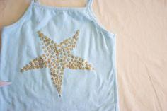 ~Ruffles And Stuff~: Faux Sequin Starfish Tank