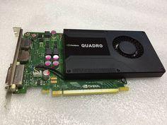 Lot of 2 PNY Nvidia Quadro 600 1GB DDR3 SDRAM PCI Express x16 Video Card