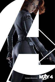 """Scarlett Johansson as Black Widow in """"The Avengers."""""""