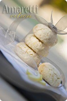 les petits plats de trinidad: Amaretti au citron Patisserie Sans Gluten, Amaretti Cookies, Biscuit Cookies, Desert Recipes, Cookie Recipes, Muffins, Sweet Tooth, Deserts, Lemon
