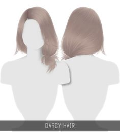 Darcy Hair for The Sims 4 by Simpliciaty Sims 3, The Sims 4 Pc, Sims 4 Teen, Sims 4 Toddler, Sims 4 Cas, Sims 4 Game Mods, Sims Games, Sims Mods, Sims 4 Black Hair