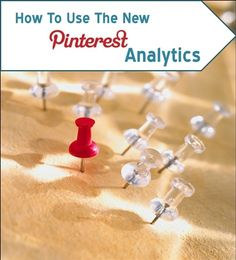 How to get and use the new pinterest analytics http://www.kludgymom.com/pinterest-statistics/