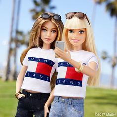 Gigi Hadid has a Barbie doll, and it looks exactly like her Barbie Life, Barbie World, Barbie And Ken, Barbie Tumblr, Barbies Pics, Barbie Fashionista Dolls, Barbie Family, Beautiful Barbie Dolls, Barbie Collection