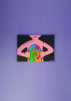 myself *painting*