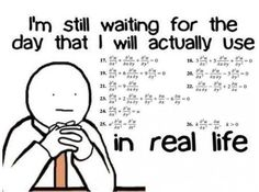 hahha... this is about the Calculus classes I took in high school lol