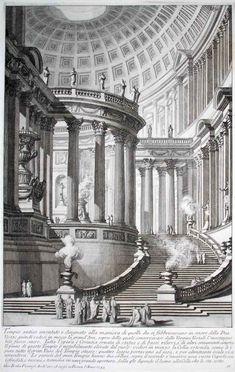 Tempio Antico. Giovanni Battista Piranesi (Italia, 1720-1778)