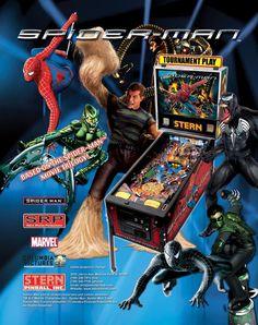 Spider-Man, Stern Pinball, June 2007, flyer