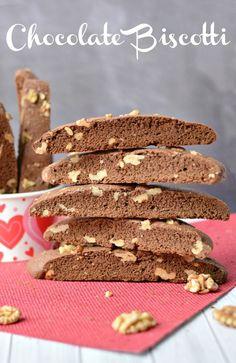 Delicious, easy homemade chocolate biscotti recipe.