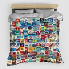 Worldwide Airports - Duvet Cover - airportag