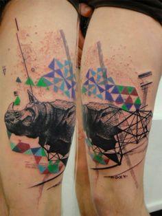 geometric tattoos houston