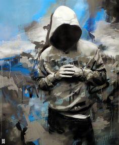 Saatchi Online Artist: Michal Mrz; Acrylic, Painting Standing