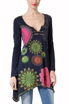 #desigual long #shirt #europe for hiding some problem zones :-) €59,00