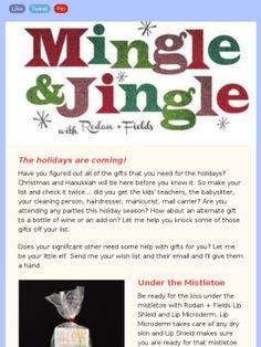Mingle and Jingle with Rodan + Fields!