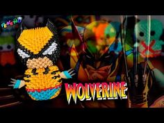 Wolverine 3D Origami | Pekeño ♥ - YouTube