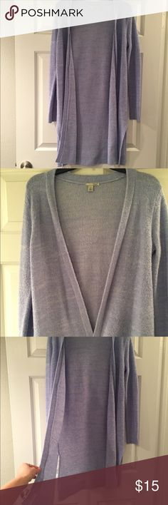 Halogen long cardigan Lavender color. Long cardigan. Hand wash. Great condition. Halogen Other