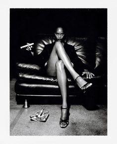 Helmut Newton-Polaroids