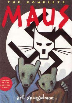 The Complete Maus - Art Spiegelman Maus Art Spiegelman, William Golding, Penguin Books, Wall Street Journal, Graphic Novel Art, Reading Art, Bd Comics, 12th Book, Scary Stories