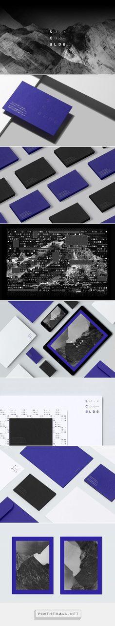 Scalde Branding by Atelier Irradie | Fivestar Branding Agency – Design and Branding Agency & Curated Inspiration Gallery #branding #brandidentity #brand #design #designinspiration