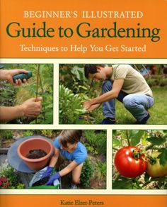 Beginner's Illustrated Guide to Gardening by Katie Elzer-Peters.