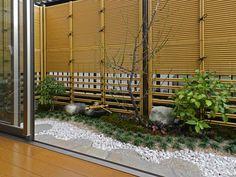 Japanese style small garden