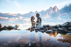 double exposures for wedding photography portraits