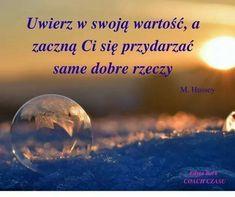 Positive Affirmations, Motto, I Love You, Pray, Positivity, Motivation, Quotes, Inspiration, Poland