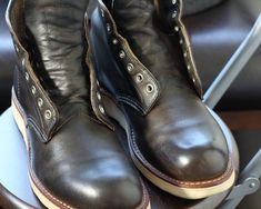 【ワックス加工後初めてのメンテ】Redwing 8190をお手入れ│the room of ramshiruba Biker, Ankle, Boots, Fashion, Crotch Boots, Moda, Wall Plug, Fashion Styles, Shoe Boot