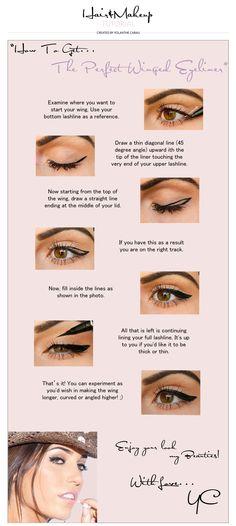 Perfect Winged Eyeliner » Yolanthe Cabau