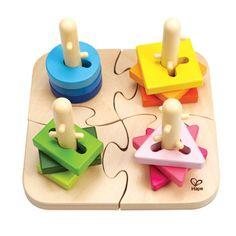 Creative Double Peg Puzzle by Hape Toys