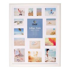 Cooper & Co Jumbo Collage Frame White 80 x 100 cm Collage Frames, Photo Displays, Framed Art Prints, Gallery Wall, Colours, Wall Art, Wall Decor