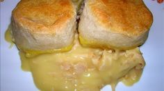 One Dish Chicken & Biscuit Bake  This is my favorite  #survival #food