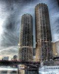 Frozen Chicago River V by ~spudart on deviantART