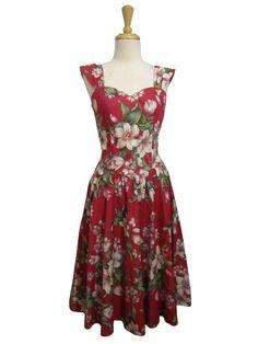 vintage hawaiian dress oahu